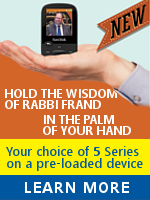 220 Shiurim (five full series) on mp3 player, flashdrive or sdcard